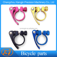 china supplier cnc aluminum alloy bicycle seat post clamp