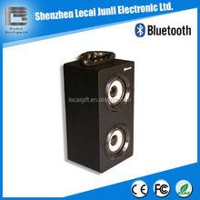 Wood Wireless Bluetooth Speaker with led light