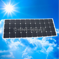 hot selling 130w fexible solar panel shenzhen factory in good quality