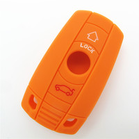 Amazing price best quality silicone rubber car key case with different color for car