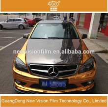 Auto body vinyl 1.52X30M pvc chrome car body wrap