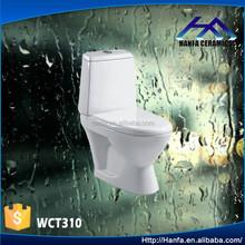 Chaozhou ceramic two piece toilet cheap sanitary ware