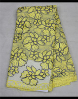 2015 New Arrival Latest Quality African Cotton Swiss Lace Fabric 5 Yard, Swiss Voile Lace, Nigeria Swiss Laces Wholesale