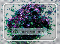 shanghai hue best selling products color changing glitter flakesfor tattoo pigment ink