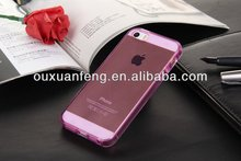 Factory Price Soft TPU Case Cover For iphone5s