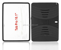 Popular hot selling Heavy Duty Rugged impact case tough hard kickstand silicone rubber Case for Samsung Galaxy Tablet Pro 10.1