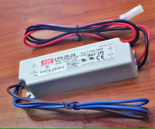 12v waterproof meanwell LED neon flex power supply