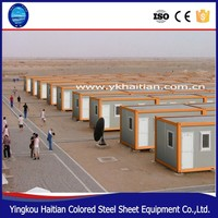 Recycle low cost living modular easy prefab container moving house