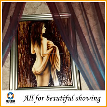 Abstarct beautiful women nude oil painting canvas, , sexy girl oil painting, art oil painting canvas