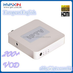 European iptv box VOD sex hot movies with Spanish/Germany/English/bein sport for USA
