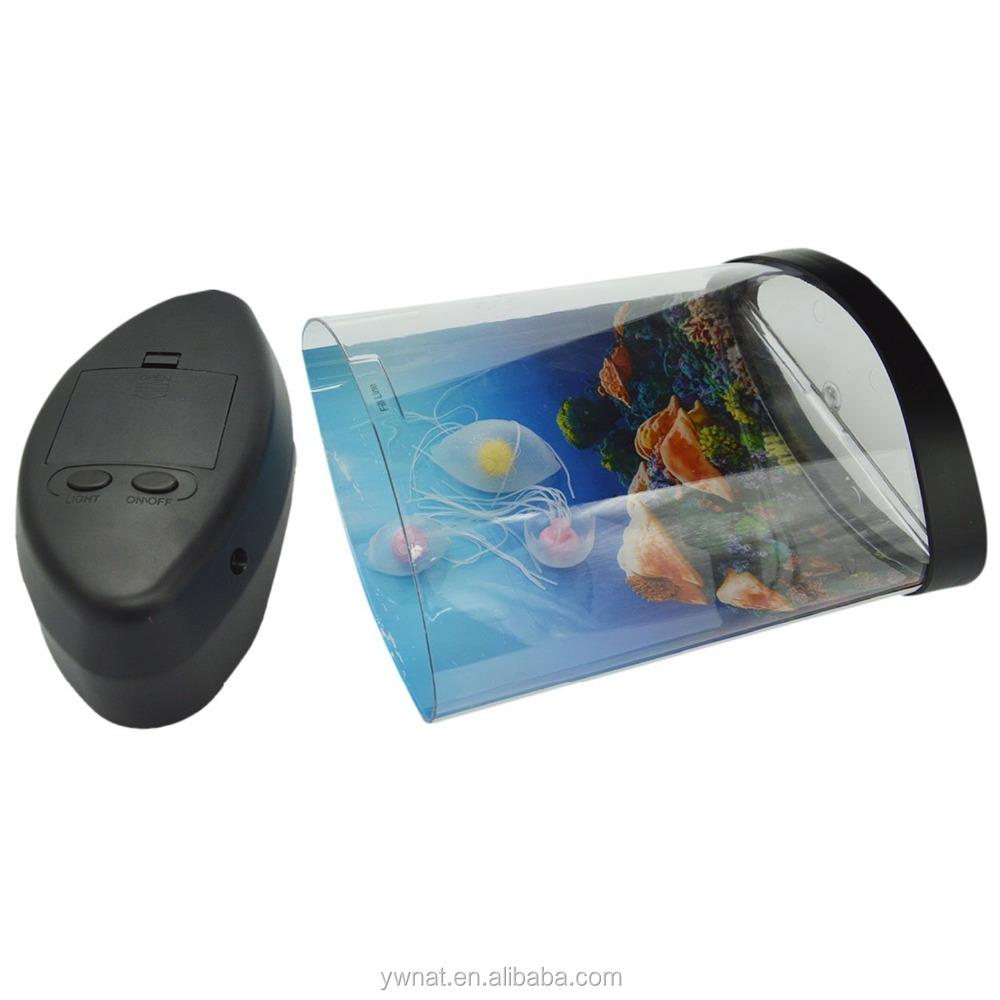 Novelty Lamp With Fish : Wholesale Novelty LED Artificial Jellyfish Aquarium Lighting Fish Tank Night Light Lamp ...
