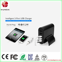 Alibaba China Supplier 5 usb usb multi charger adapter 5v 5 ports charger station for tablets phones