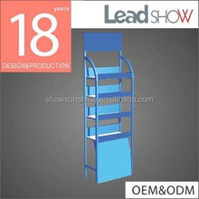 Hot Selling Supermarket metal flower pot rack