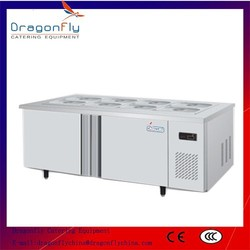 CE Approved Side by Side Commercial Workbench Chiller for Sale