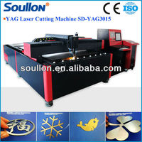 SD-YAG3015 YAG laser processing brass equipment with advanced nesting software