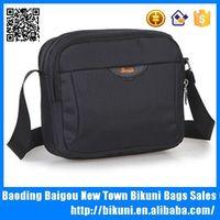 Hot selling 14 inch nylon laptop messenger bag men's shoulder bag