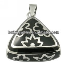 fashion jewelry for women,triangle pendant with enamel P31230B