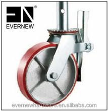 Heavy Duty American Scaffolding Caster Wheel (cast iron core PU wheel)
