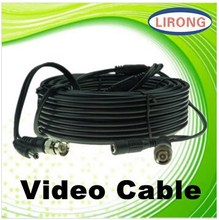 cctv camera power / video cable with CE certificate , RoHS certificate and FCC certificate