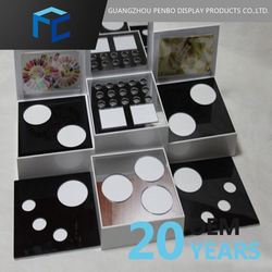 Opening Sale Cheap Prices Custom Tag Acrylic Makeup Display Case