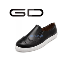 GD elegant exquisite carve patterns fashion handsome comfortable casual flat shoes for women