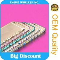 original diamond stone crystal case for apple iphone 4 ,6 months guarantee