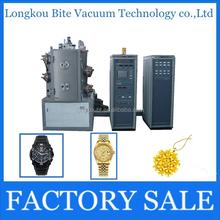 titan wrist watch decorative gold Vacuum Coating metallizing machine for sale