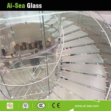 Good quality Tempered Glass Floor fencing Panels