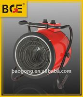 electric heater 380v 9KW Cylinder fan forced electric heater