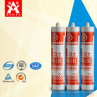 310ml Clear all purpose silicone sealant CWS-193