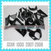 ABS Custom Fairing Body Kit for SUZUKI GSXR 1000 K7 2007 2008 fairing kit body work
