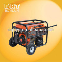 5kw Portable Petrol Generator with easy removed wheel and handle