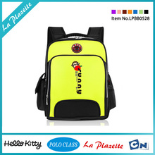 Lovely top quality brand kids trolley school bag