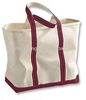mens canvas leather travel bag