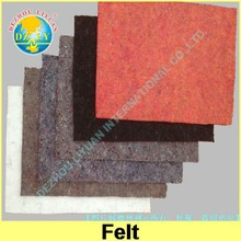 Nonwoven polyester painter felt in roll