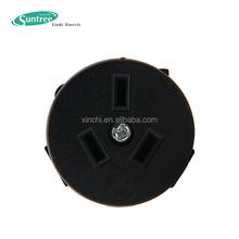 Australian 240V AC Industrial Power Plug 3-gang Socket Outlet