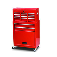 Hot sale widely used household metal tool chest and roller cabinet combo