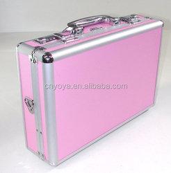"Pink CaseSpace Mini Vault 10""-12"" 12 Inch Aluminium ABS Hard Case 12"" Netbook Notebook Laptop Lenovo, Sony, Samsung, Toshiba, De"