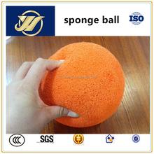 soft medium soft hard pipeline clean ball for concrete pump
