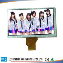 7 inch lcd panel with 800x480 resolution ,brightness can suit your own requirements