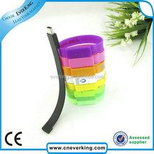 colorful wrist usb flash drive with 8gb