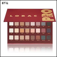 Lorac MEGA PRO Palette eyeshadow makeup 32 colors LORAC PRO Palette mega eye shadow palette