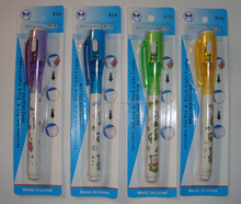 plastic invisible ink pen with uv light