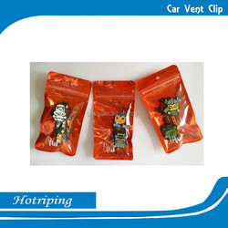 Promotion logo customized car vent air freshener in car freshener