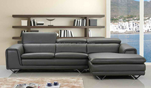 Modern kids genuine leather L shape elegant leather sectional sofa,ikea cheap living room luxury synthetic leather corner sofa