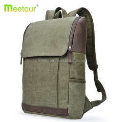 2015 simplicity canvas backpack men shoulder canvas backpack vintage army green student canvas backpack