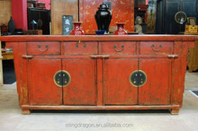 Chinese-style Antique Cupboard Console Sideboard