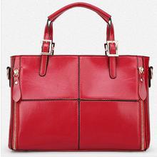 New fashion popular wholesale copy Europe style PU lelather orange bags women