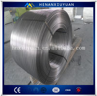 Hot Sale CaSi Alloy Cored Wire, good deoxidizer for steel making