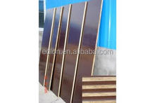 stronger and durable 18mm brown/black color finger joint core marine/shuttering film faced plywood